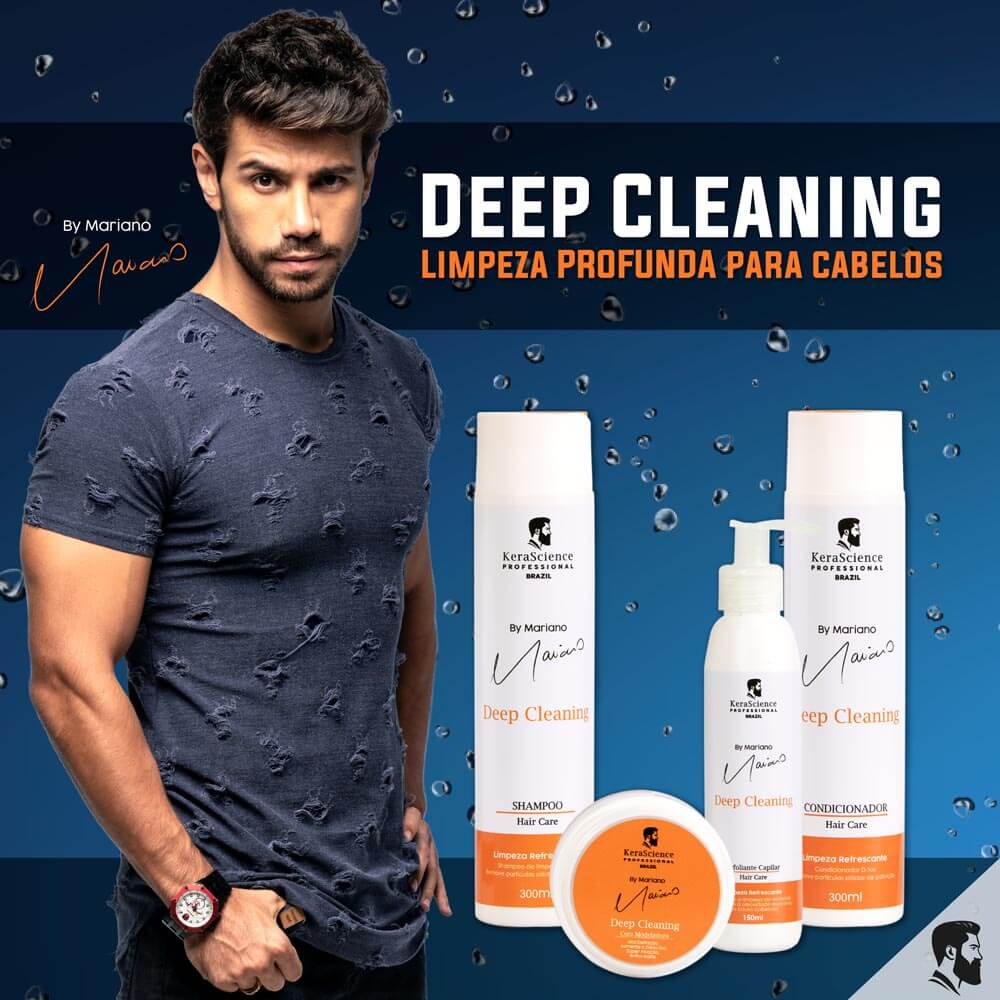 Kit Deep Cleaning by Mariano 4 itens - KeraScience